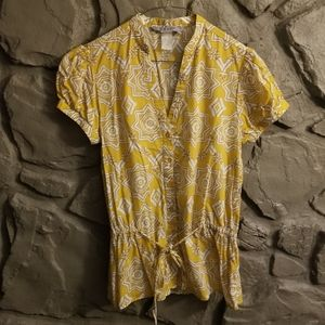 Tex by Max Azria BCBG Aztec Button Up Shirt